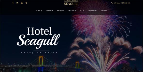 Travel HotelJoomla Template