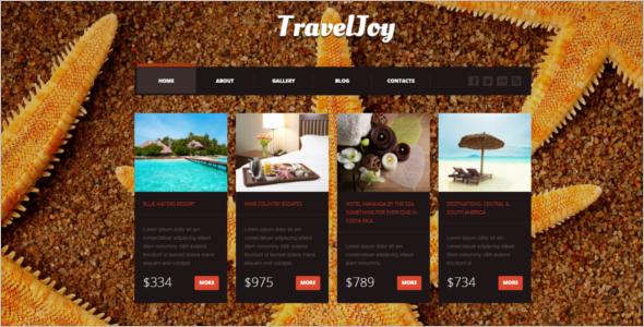 Travel Hotel Joomla Template