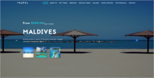 Travel & Hotel Website Template