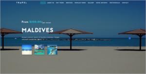 Travel & Hotel Website Template