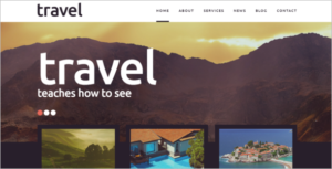 Travel Places Joomla Template
