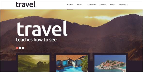 Travel Places Joomla Template