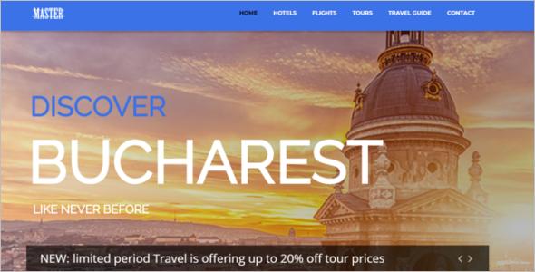 Travel Theme For Joomla