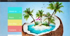 Travel Website Joomla Template