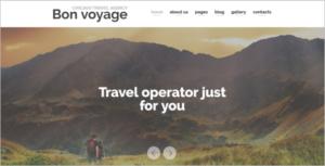 Travel planning Joomla TemplateTravel planning Joomla Template