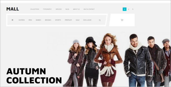Trendy Ecommerce Joomla template