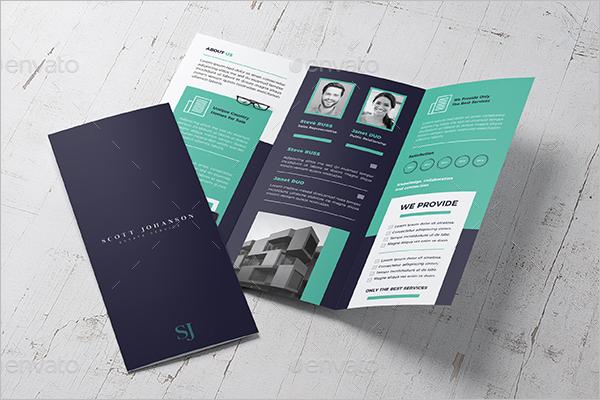 Trifold CorelDraw Brochure Template