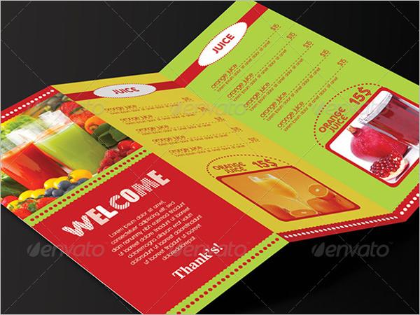 TrifoldMenu Card Template