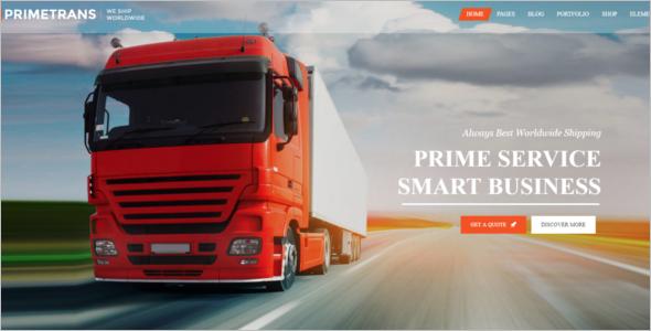Trucking HTML5 Website Template