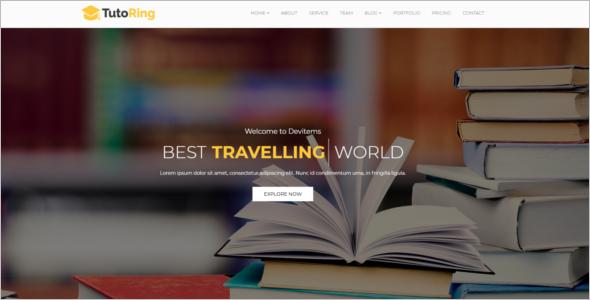 Tutoring School HTML Template