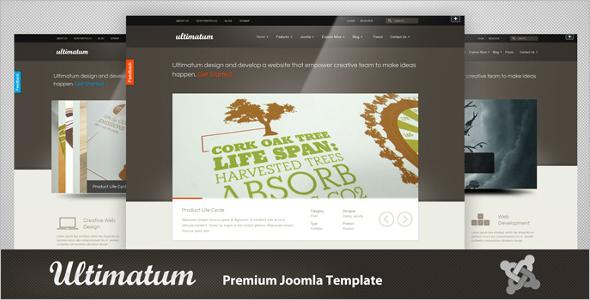 UltimatumJoomla Website Template