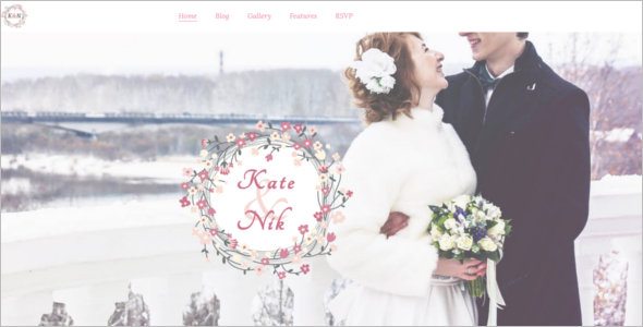 Unique Wedding HTML5 Template