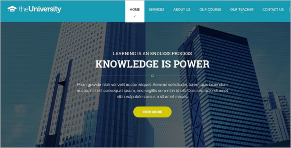 University Business eCommerce Joomla Template
