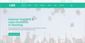 University Joomla Education Template