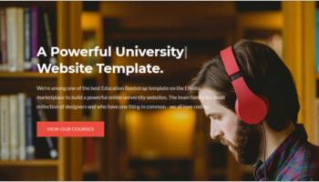 University Joomla Templates
