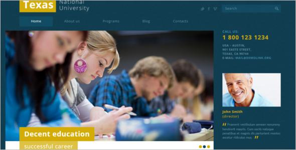 University Joomla Theme
