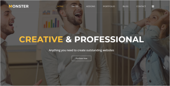 User Friendly Joomla Template