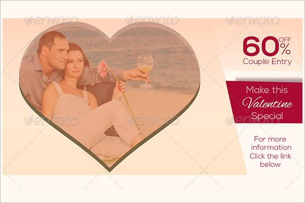 Valentine Facebook Ad Design