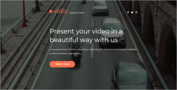 Video Gallery HTML Template