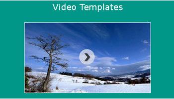 Video HTML5 Templates