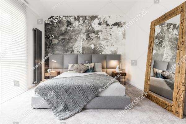 Vintage Bedroom Texture Design