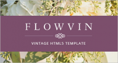 29+ Best Vintage HTML5 Website Templates