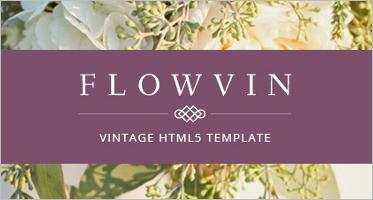 Vintage HTML5 Templates
