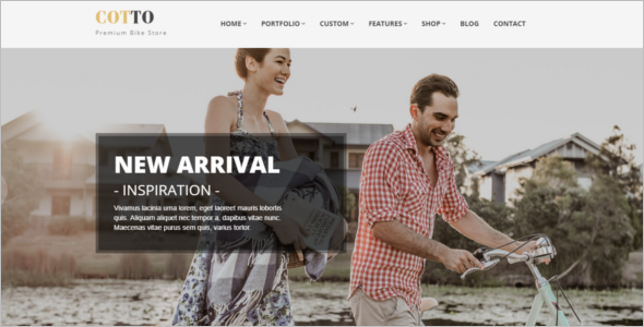 Vintage Store HTML5 template