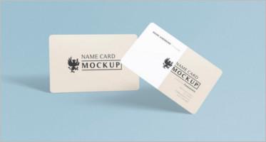 Visiting Card Mockups
