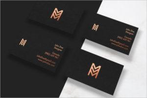 Visiting Cards Mockup Design