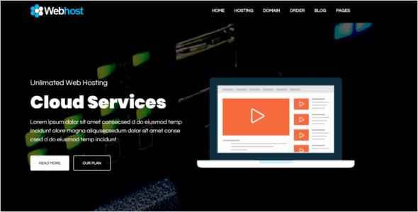 Web Hosting HTML5 Template