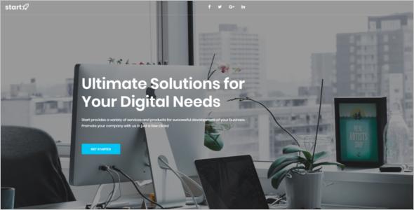 Web Technology HTML5 Template