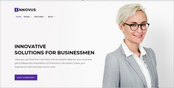 Website Corporate HTML5 Templates