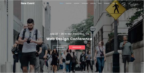 Website Design Template WordPress