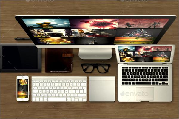 Website Devices Mockup Design