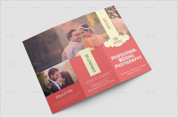 WeddingCorelDraw Brochure Template