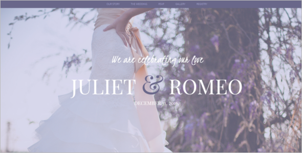 Wedding HTML5 template