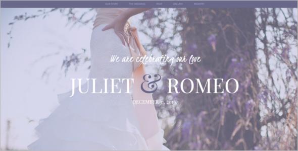 Wedding HTML5 template