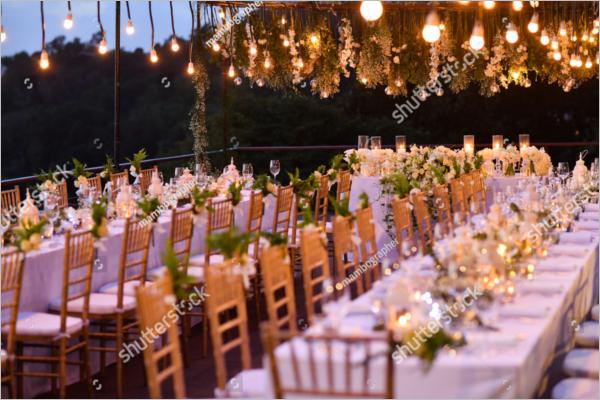 Wedding Party Decoration Idea
