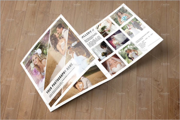 Wedding Photography Brochure Design