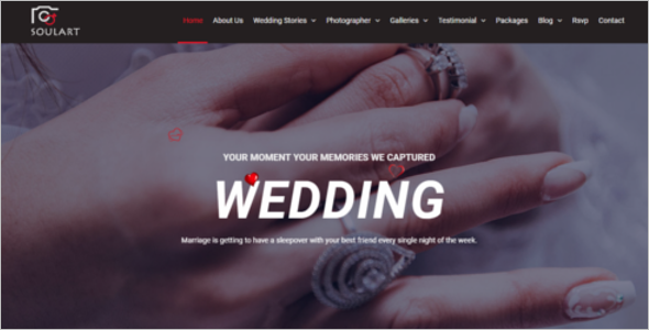 Wedding Planner HTML5 Template