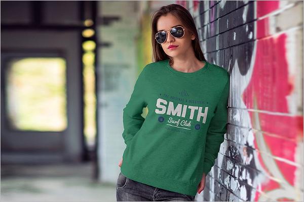 Women Tshirt MockUp Design