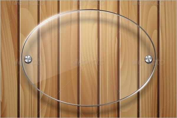 Wooden Glass Texture Design