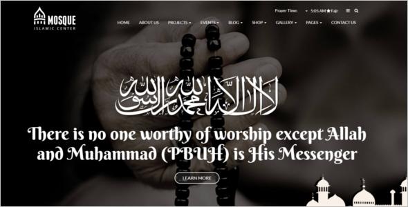 WordPress Theme For Arabic