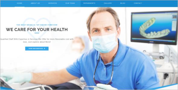 WordPress Theme For Hospital Website