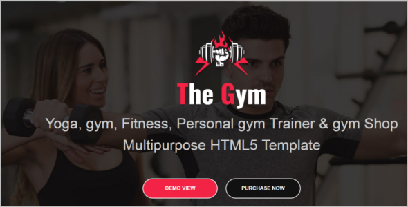 Yoga Gym HTML5 Responsive Template