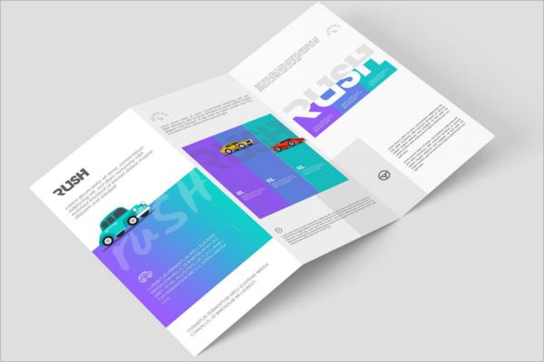 Z-FoldLeaflet Design Template