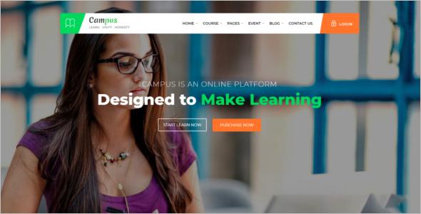 e-Learning HTML5 Template