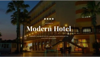 hotel html5 Templates