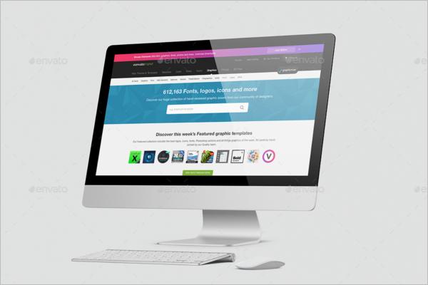 54+ iMac Mockup Templates PSD Free Mockup Designs | Creative Template